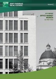 office market munich - BNP PARIBAS Real Estate Deutschland