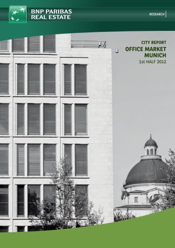 office market munich - BNP PARIBAS Real Estate Deutschland