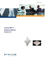 Tsunami MP.11 Reference Manual Version 2.3