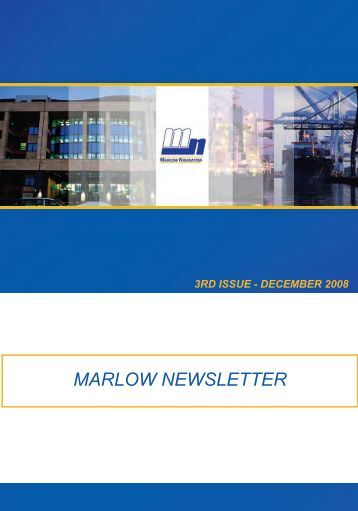 MARLOW NEWSLETTER - Marlow Navigation Training Center