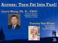 Access: Turn Fat Into Fuel! - Execs With Solutions Training