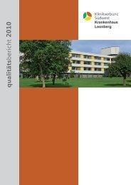 Krankenhaus Leonberg qualitäts - Klinikverbund Südwest GmbH