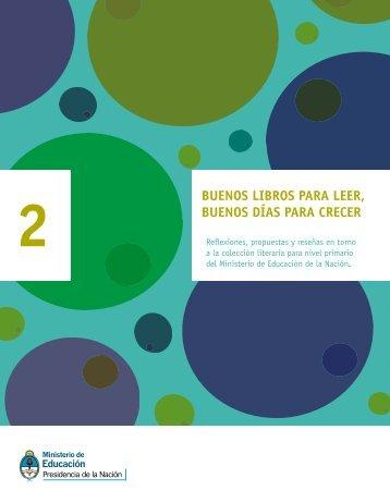 buenos libros 2 - Ministerio de Educación