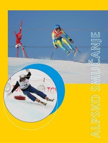 Alpsko smučanje - Modra kartica