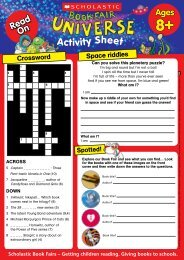 Activity Sheet - Scholastic