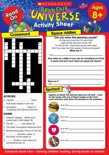 Activity Sheet - Scholastic