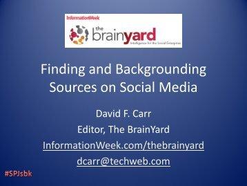 Social Sources – PDF