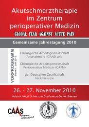 Samstag, 27. November 2010 - Universität Witten/Herdecke