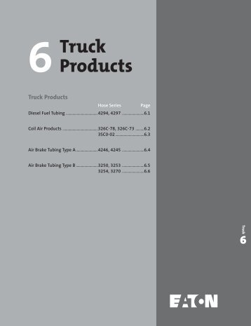 Truck Products - Chester Paul Company