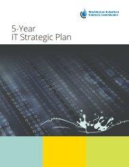 5-Year IT Strategic Plan - Washington Suburban Sanitary Commission
