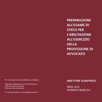 PREPARAZIONE ALL'ESAME DI STATO PER L ... - Giustamm.it