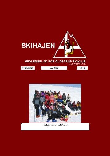 SKIHAJ maj. 04.pdf - Glostrup Skiclubs hjemmeside