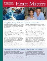 March 2010 - Minneapolis Heart Institute Foundation