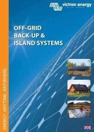 OFF-GRID BACK-UP & ISLAND SYSTEMS - Solarni paneli