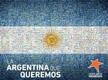 la Argentina que quere - Partido Socialista