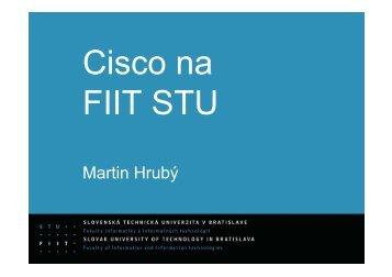 Sieťová akadémia FIIT STU