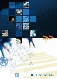 Brochura de apresentação da Transitec
