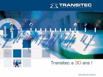 Notre plaquette anniversaire 30 ans - Transitec