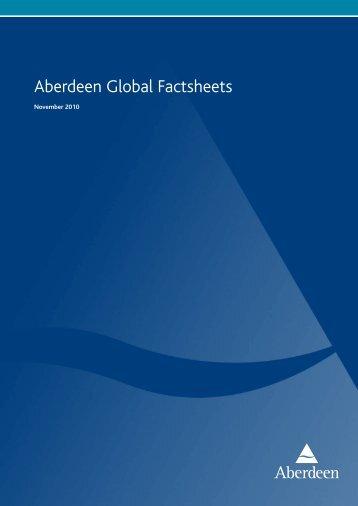 Aberdeen Global Factsheets - Aberdeen Asset Management