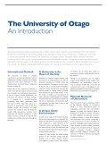 University of Otago New Zealand - Page 4