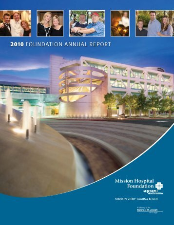 2010 FOUNDATION ANNUAL REPORT - Mission Hospital