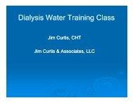 Dialysis Water Training Class - FMQAI