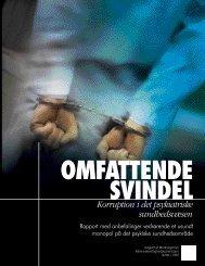 Korruption i det psykiatriske sundhedsvæsen - MMK