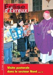 N° 6 - 21 mars 2011 - Diocèse d'Evreux