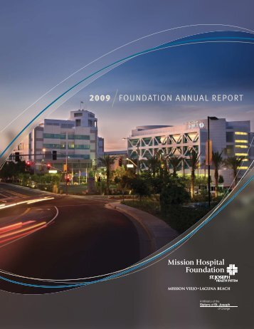 2009 Annual Report - Mission Hospital