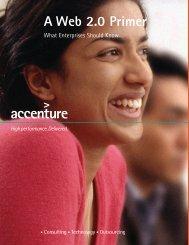 A Web 2.0 Primer - Accenture