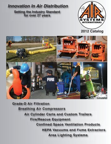 to Download our Full Line Products Catalog - Air Systems International