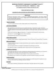 missouri property insurance placement facility - ACORD Forms