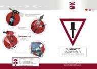 BLIND RIVETS BLINDNIETE RIVETS AVEUGLES - VVG ...
