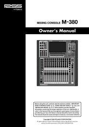 M-380 - Pro Audio and Lighting