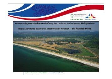 Sperrgebiet Rostocker Heide