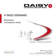 4-TAGES-SEMINARE - DAISY Akademie + Verlag