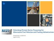 Unlocking Private Sector Financing for Alternative Fuel Vehicles and ...