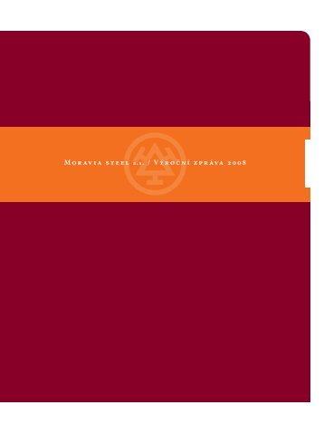 Výroční zpráva MS 2008 v pdf, 2,1 MB - Třinecké železárny