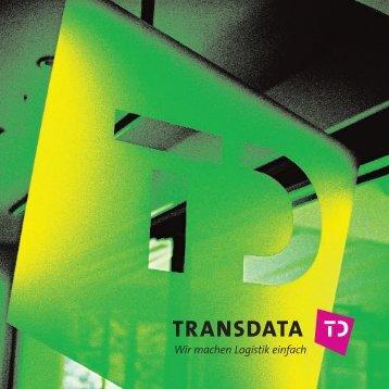 Transdata Imagebroschüre - Transdata Soft