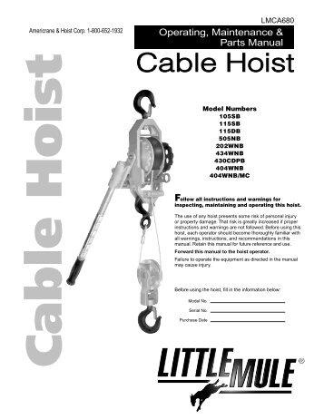 Please have the hoist mod