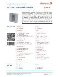 3bs – công tắc điều khiển 3 nút nhấn sb-3bs-eu - Smart-Bus Home ...