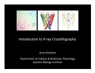 Introduction to X-ray Crystallography