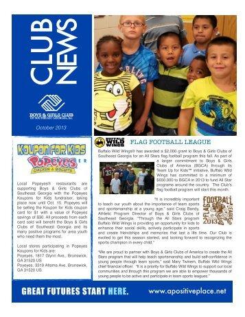 download a pdf copy - Boys & Girls Clubs of Southeast Georgia