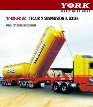 TECAIR 2 SUSPENSION & AXLES - York Transport Equipment
