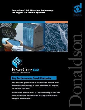 PowerCore® G2 - Donaldson Company, Inc.