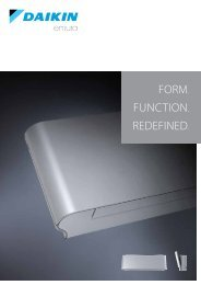 Form. Function. redeFined. - Daikin