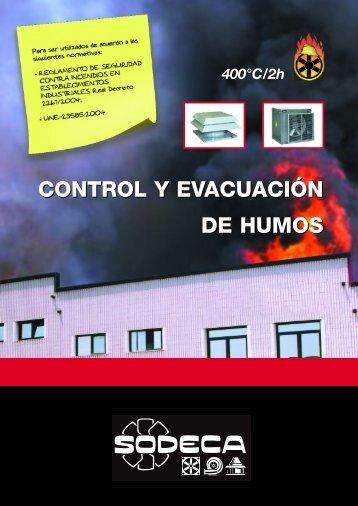 control y evacuación de humos - Caloryfrio.com