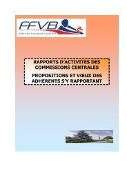2. - Extranet FFVB - Fédération Française de Volley-Ball