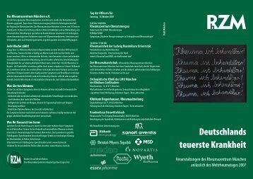 Deutschlands teuerste Krankheit - Deutsche Gesellschaft für ...
