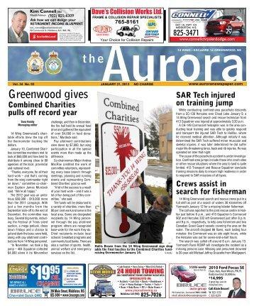 Jan 21 2013 - The Aurora Newspaper